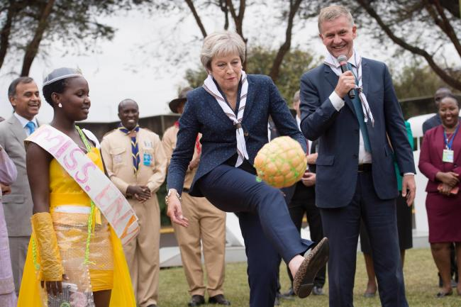 Theresa May veut faire sa propre remontada